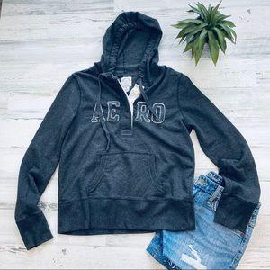 Aeropostale gray sweatshirt